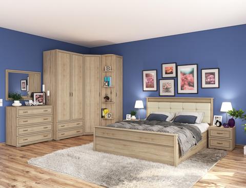 Спальня Ливорно №4 сонома