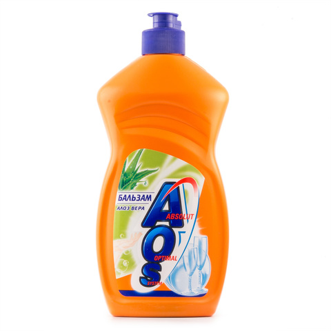 Средство для мытья посуды АОС Бальзам Алоэ 450 мл