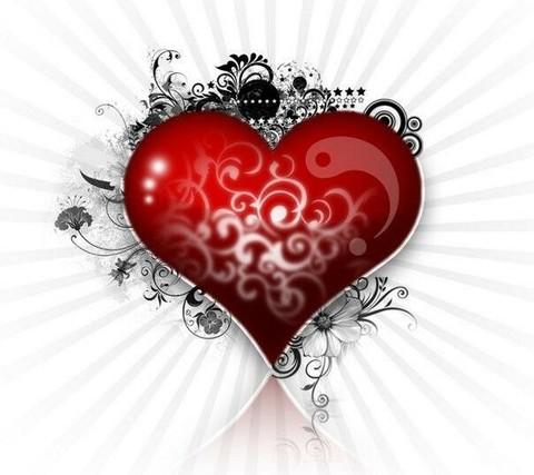 Печать на вафельной бумаге, День Влюбленных 14