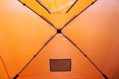 Зимняя палатка куб WOODLAND ICE FISH 4, 180х180х200 см