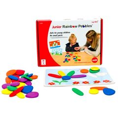 Радужные камешки обучающий набор для индивидуальной работы Edx education 13209