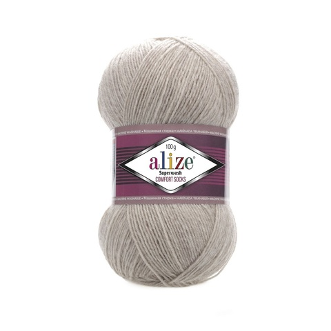 Пряжа Alize SuperWash Comfort Socks цвет 0152