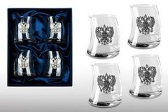 Подарочный набор стаканов для виски «Русский мамонт», фото 1