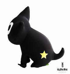 Подушка-игрушка антистресс Gekoko «Котенок Лаки со звездой» 11