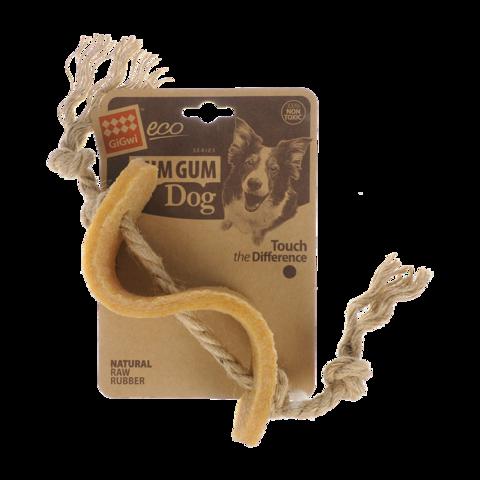 GiGwi Игрушка для собак средних и крупных собак Доллар из эко-резины