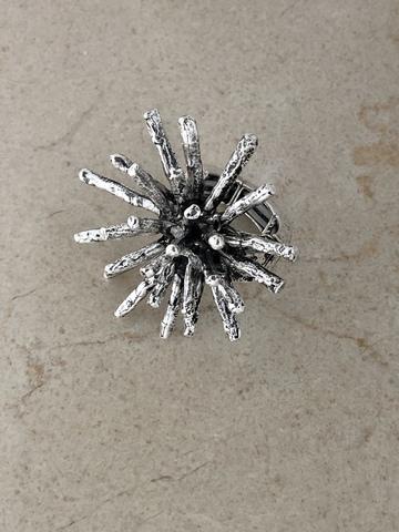 Кольцо Палазия, серебряный цвет