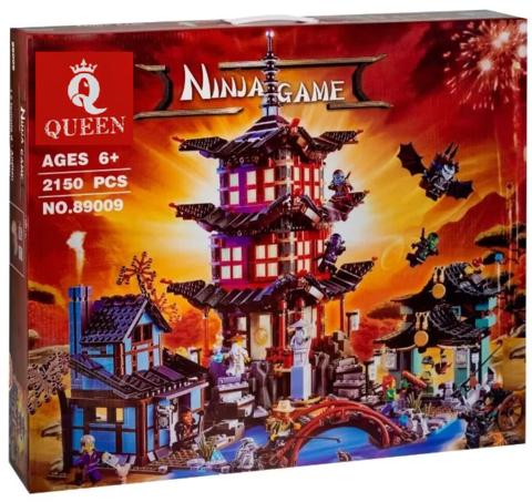 Конструктор Queen Ninja Game 89009 (180088) Храм Аэроджитцу