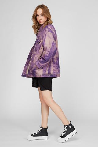 Женская фиолетовая джинсовая куртка G-SOJO Diesel