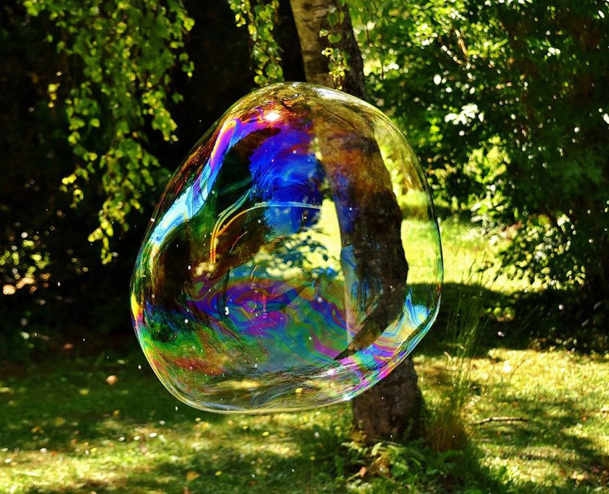 Устройство для пускания больших мыльных пузырей Фото №4