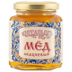 """Мед натуральный """"Потапычъ"""" акациевый 250г ГОСТ"""