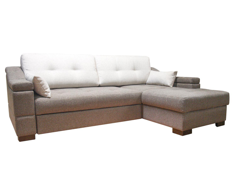 Угловой диван Макс П5 2д1я, обивка рогожка + дополнительные подушки