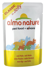 Паучи Almo Nature Classic Nature Jelly - Cat Chicken