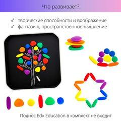 Обучающий набор Радужные камешки мини Edx education 13209