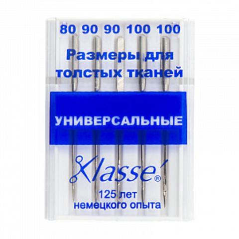 ИГЛЫ ДЛЯ БЫТОВЫХ ШВЕЙНЫХ МАШИН УНИВЕРСАЛЬНЫЕ-A6100/992-KLASSE