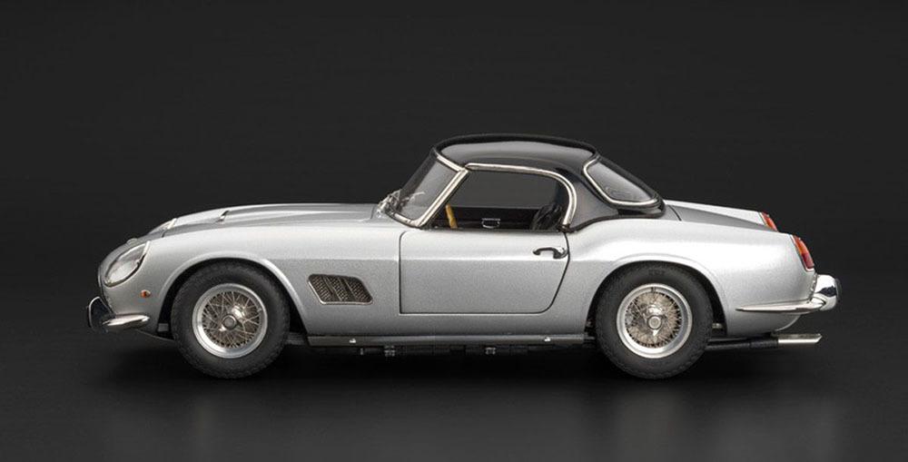 Коллекционная модель Ferrari 250 GT SWB California Spyder 1961 Silver