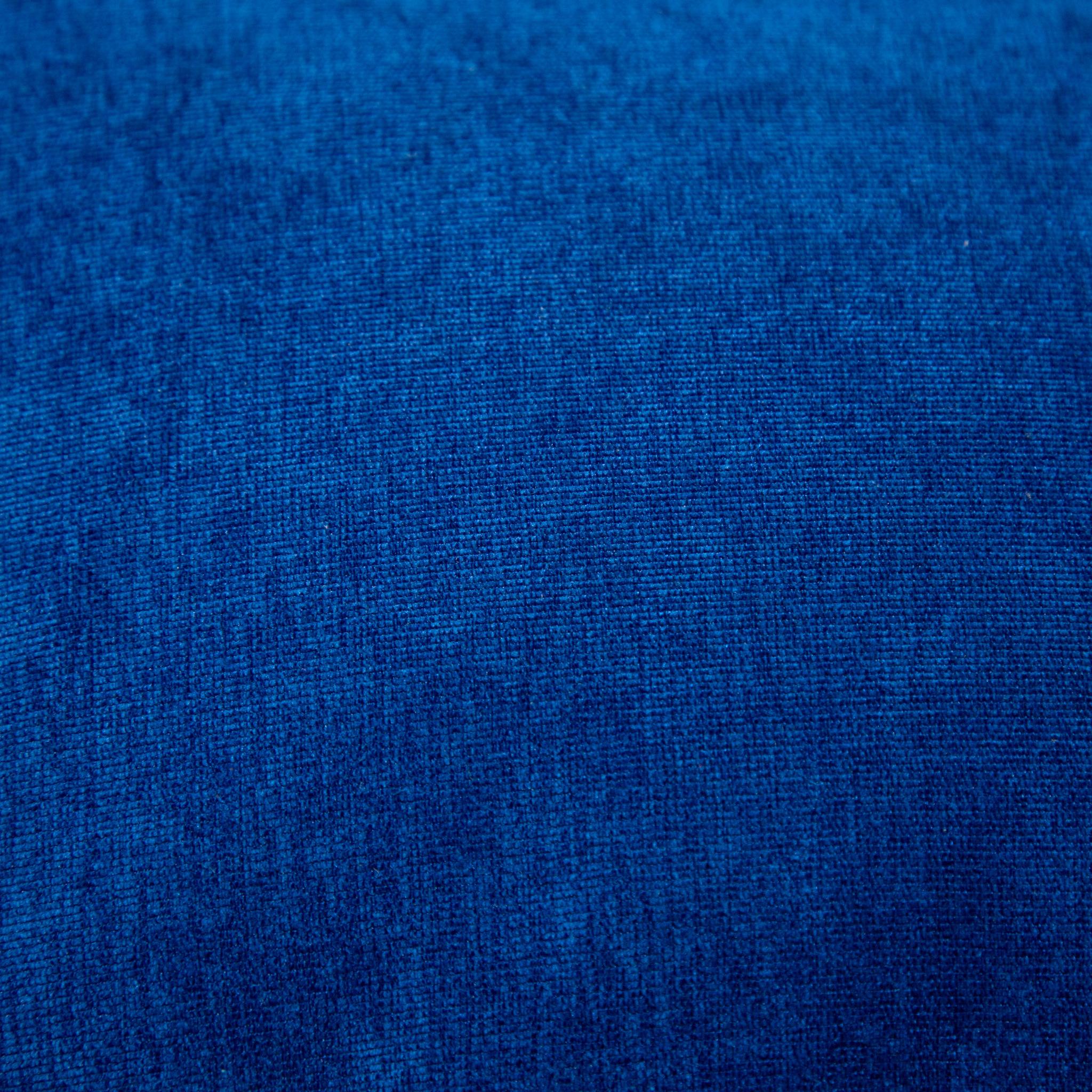 Пуф микровельвет (синий)