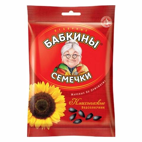 Семечки жареные БАБКИНЫ 190 гр РОССИЯ