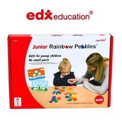 Радужные камешки мини Edx education упаковка
