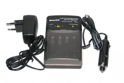 ЗУ MastAK MW-908 (4*R6, 4*R3) + адаптер 12 V