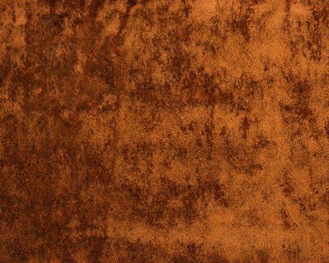 Портьерная ткань Солярис бархат однотонный красно-коричневый