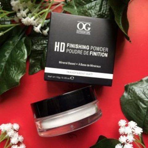 OG-FB6169 Пудра для лица рассыпчатая прозрачная фиксирующая макияж