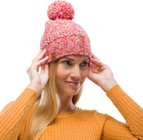 Шапка вязаная с флисом Buff Hat Knitted Polar Margo Flamingo Pink фото 2
