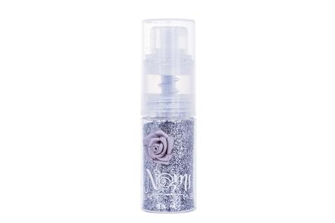 Пудра с блестками NOMI «Серебряное сияние»