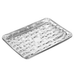 Форма из алюминия (3 шт) прямоугольная 34х22,4х3,3 см, для приготовления и хранения пищи