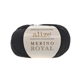 Alize Merino Royal черный 60