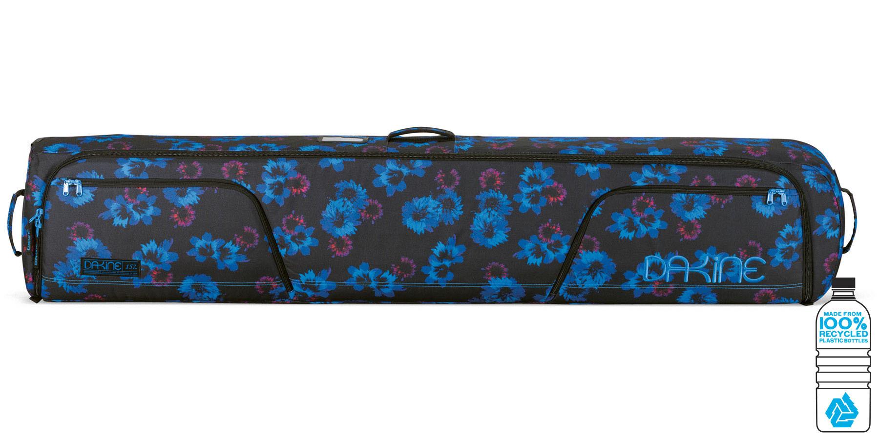 Для сноуборда Чехол для сноуборда женский Dakine Low Roller 157см Blue Flowers 1650010_BFL_WOMENSLOWROLLER157CM_BLUEFLOWERS.jpg