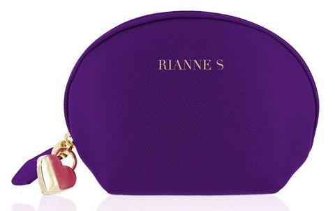 Фиолетовый вибратор с ушками Bunny Bliss - 11 см.