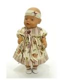 Платье - на кукле. Одежда для кукол, пупсов и мягких игрушек.