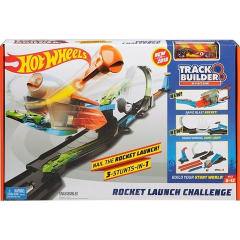 Hot Wheels Blast Off Challenge Track Set