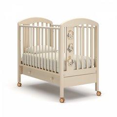 Кровать детская Макс с ящиком слоновая кость