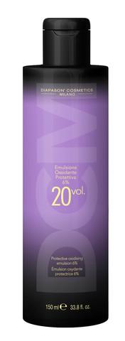 DCM Окисляющая эмульсия со смягчающим и защитным действием 20 Vol (6%) 150 мл