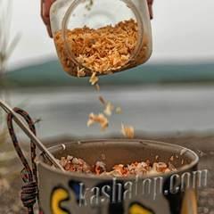 Лук сушёный обжаренный Каша из топора