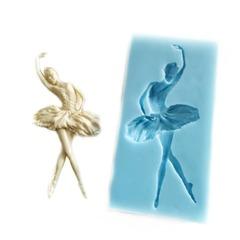 1078 Молд силиконовый. Балерина