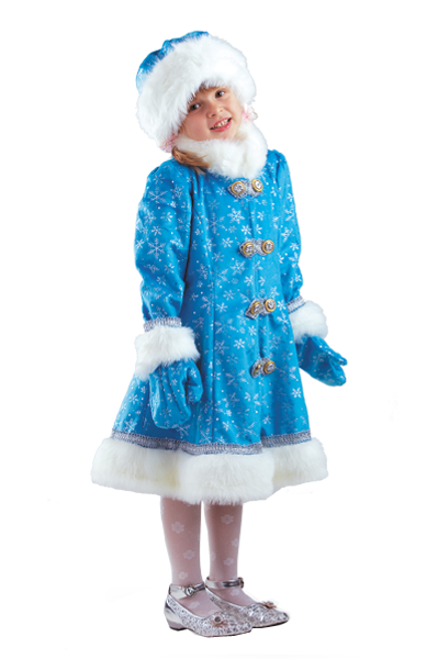 Костюм Снегурочка Плюш детская