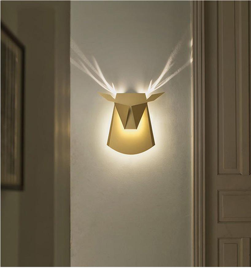 Настенный светильник Deer by Light Room (белый)