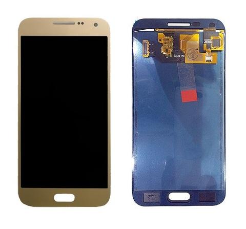 LCD SAMSUNG E5 E500F + Touch Gold OLED MOQ:5
