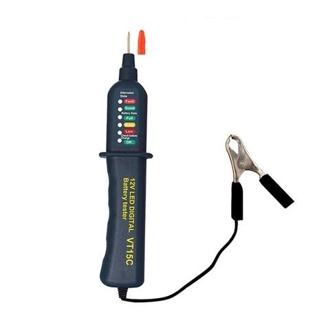 Тестер автомобильного аккумулятора и генератора WHDZ - VT15C
