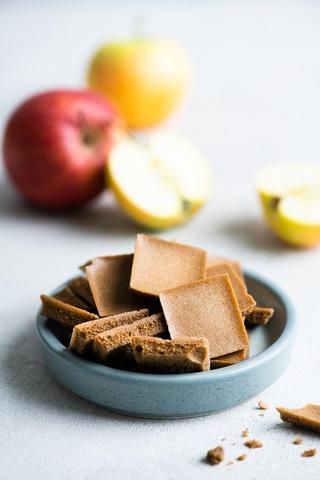 Сухарики из 4 сортов яблок (по рецепту Карпова и Круглова), без сахара, 50 г