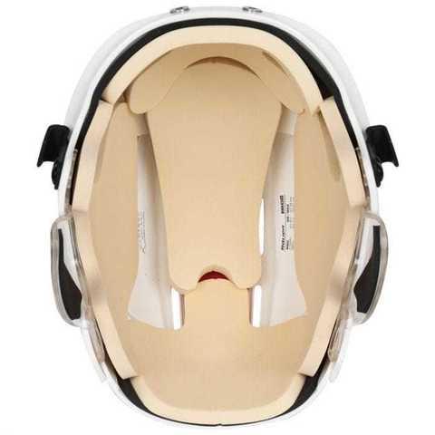 Шлем с маской BAUER 4500 L белый