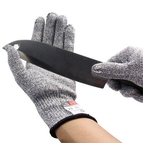 Японские тактические  перчатки от порезов и ожогов CROCH Anti-Cut and Heat Resistant Gloves