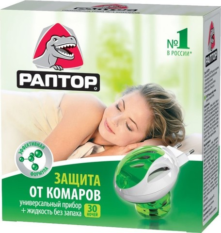 Комплект Раптор (прибор+жидкость от комаров) Gk9560