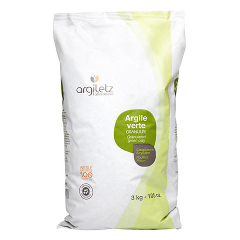 Зелёная глина маска-гранулят Argiletz, 3 кг