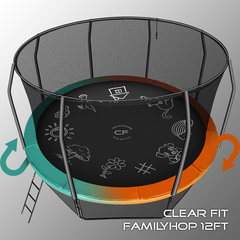 Clear Fit FamilyHop 14Ft