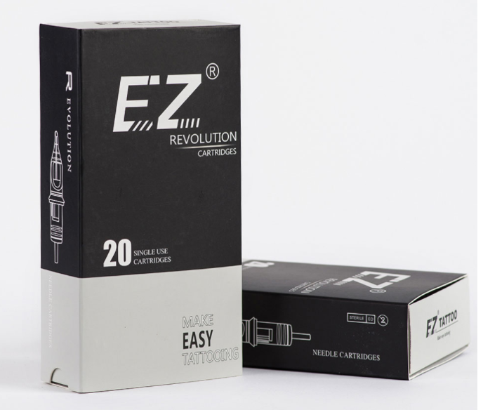 Картридж для тату 3RL текстура EZ Revolution 1203RL Extra Long Taper (цена за 5шт и 20 шт)