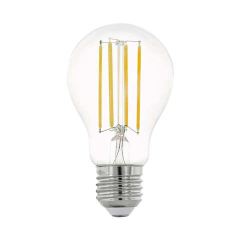 Лампа LED филаментная прозрачная Eglo CLEAR LM-LED-E27 8W 1055Lm 2700K A60 11755