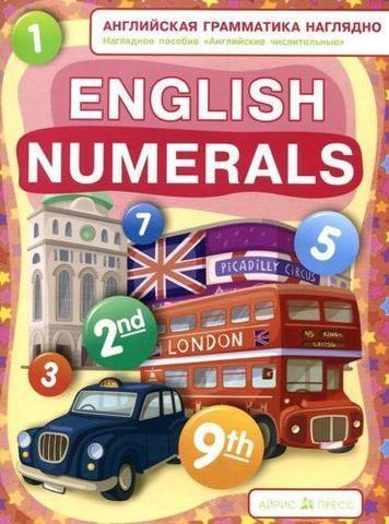 Постер English Numerals (Числительные) 60*90